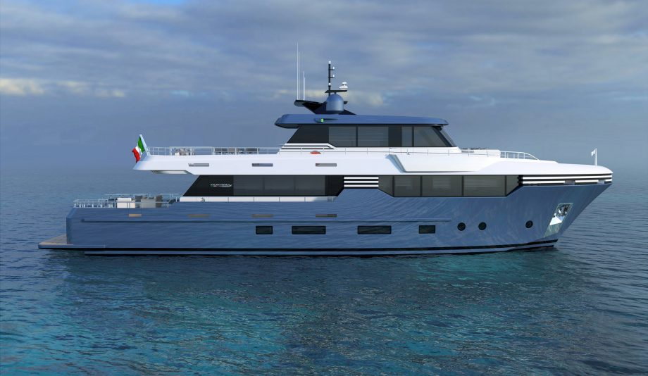 Italian Vessels 28.5M first look: This new Spadolini design is all about cruising range