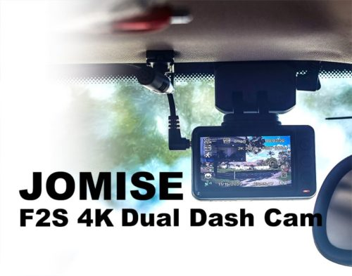 JOMISE F2S 4K Dual Dash Cam Review