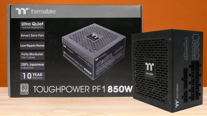 Thermaltake Toughpower PF1 850W Power Supply Review