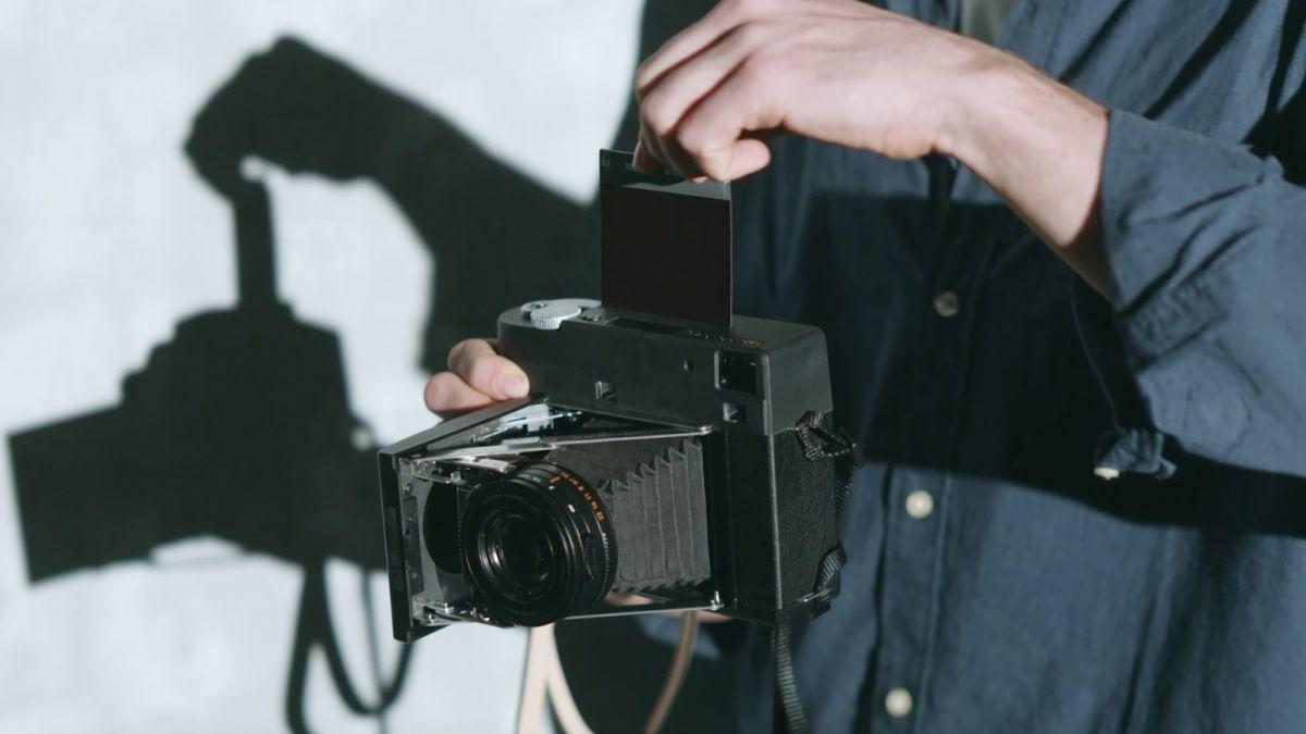 InstantKon SF70: A fully manual Polaroid SX-70 that takes cheaper Instax film