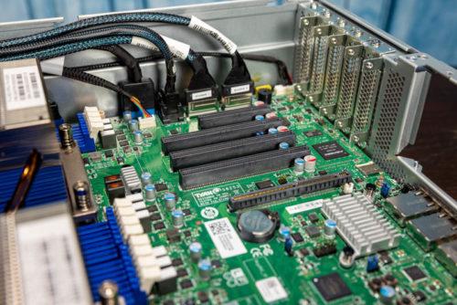Tyan Transport SX TS65-B8253 2U AMD EPYC Storage Server Review