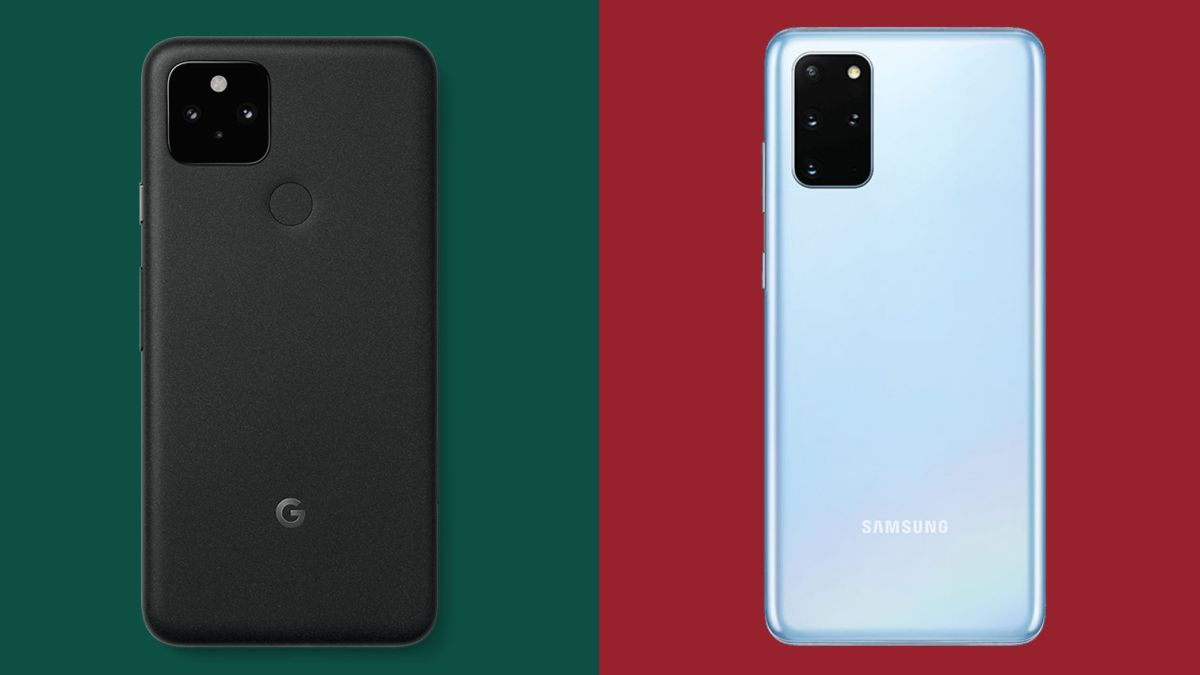 Google Pixel 5 vs Samsung Galaxy S20: contrasting routes to the flagship throne