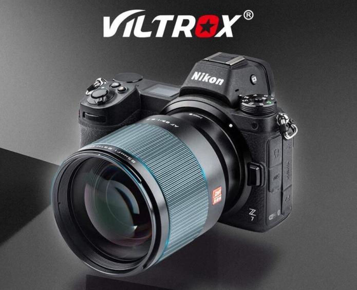 Viltrox Unveils 85mm f/1.8 STM Lens for Nikon Z-Mount Cameras