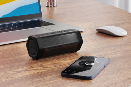 ENACFIRE claims its new wireless, IPX7-rated Soundtank speaker lasts 24 hours per charge