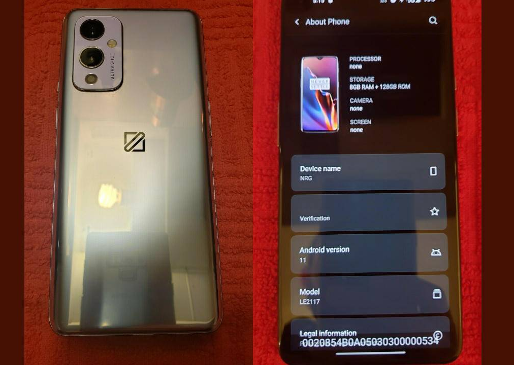 OnePlus 9 5G prototype on eBay just sold for thousands of dollars