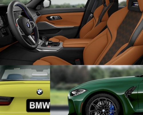 Explore the 2021 BMW M3 and M4's Crazy Color Combos