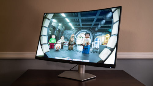 Dell 4K S3221QS Curved Monitor review