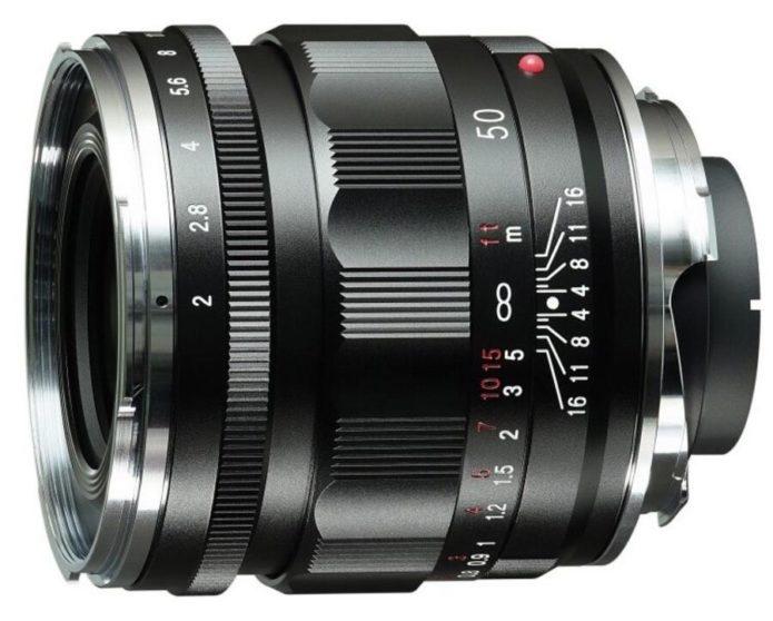 Voigtlander APO-LANTHAR 50mm f/2 Aspherical VM lens for Leica M-mount