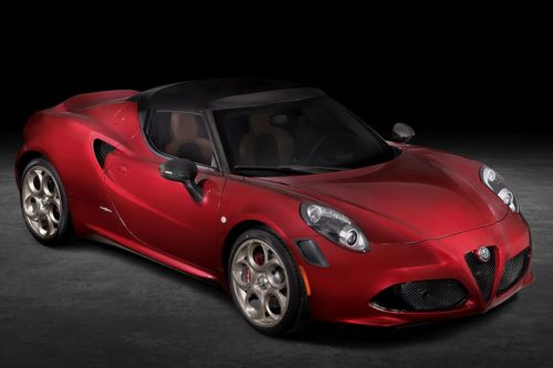 Alfa Romeo 4C Spider 33 Stradale Tributo revealed