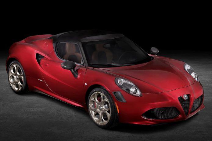Alfa Romeo 4C Spider 33 Stradale Tributo revealed