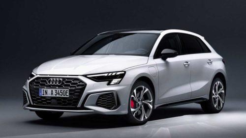 2021 Audi A3 Sportback 45 TFSI e Has 242 HP, 39-Mile Electric Range