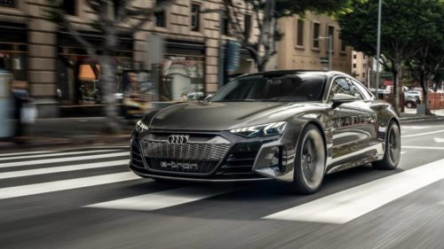 The Audi e-tron GT Concept was the best sort of bait-and-switch