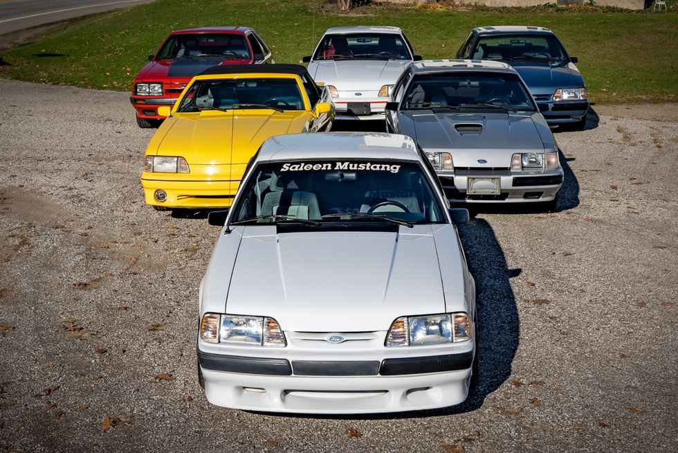 Collection of 6 Fox-Body Ford Mustangs up for Auction on BaT