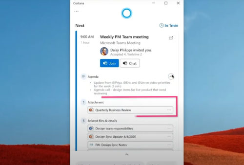 Microsoft is testing a Cortana 'File Skill' to find files faster in Windows 10