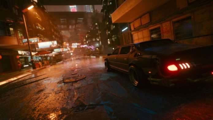 Cyberpunk 2077 review impressions: Night City's ray-traced neon streets feel alive