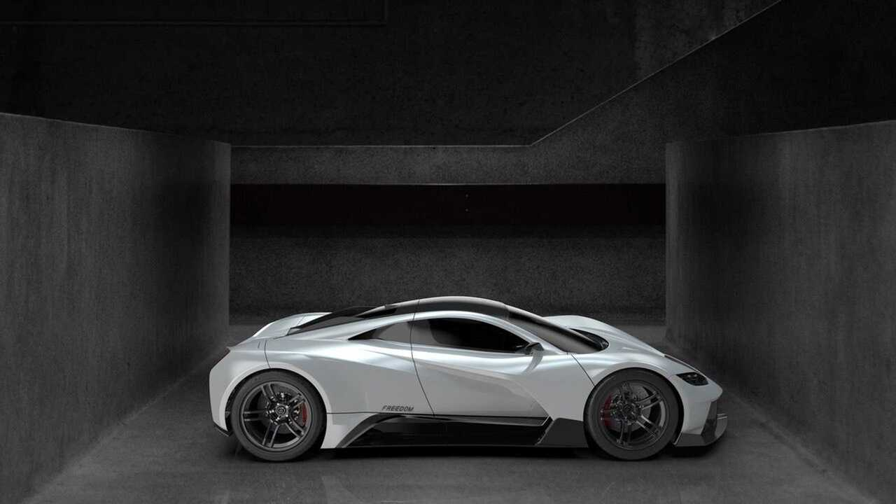 Elation reveals first Dogo 001 prototype of Freedom hypercar