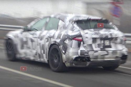 SPY PICS: Ferrari Purosangue SUV snared