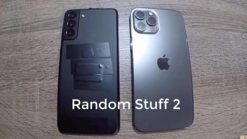 Galaxy S21+ compared with iPhone 12 Pro in leaked video
