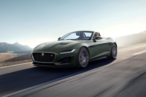2021 Jaguar F-Type Heritage 60 Edition Looks Smashing in Green and Tan