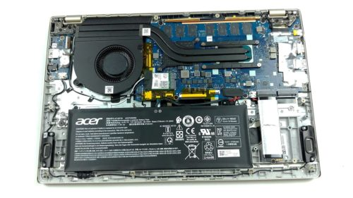 Inside Acer Swift 3X (SF314-510G) – disassembly and upgrade options