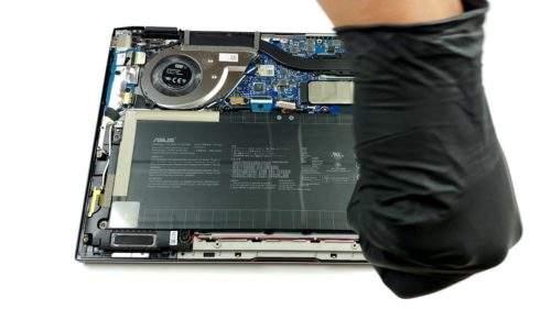 Inside ASUS ZenBook Flip S UX371 – disassembly and upgrade options