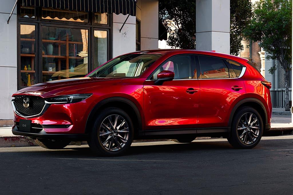 Mazda CX-5 and CX-8 upgraded