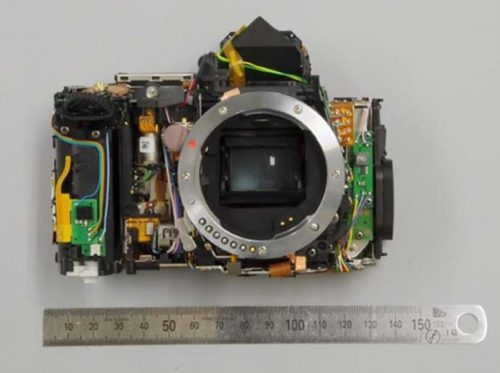 The internals of the upcoming Pentax K-3 III flagship APS-C DSLR