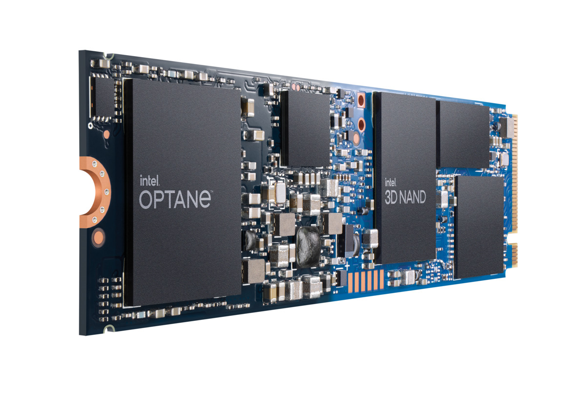 Intel shows off an Optane Memory H20 drive, along with faster 670P SSDs