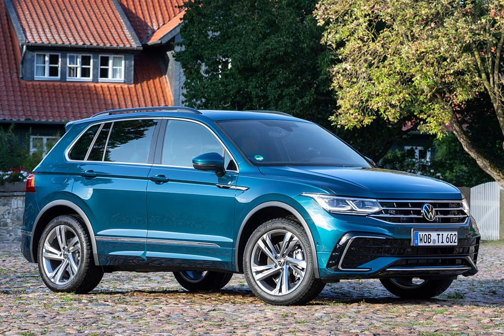 New Volkswagen Tiguan detailed