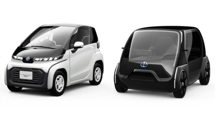 Toyota's cheap two-seater EV plan for 2021 isn't what you'd expect
