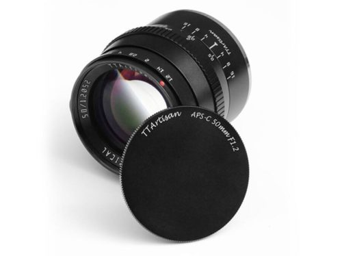 TTArtisan 50mm f/1.2 Lens for APS-C Mirrorless Cameras, Price $98