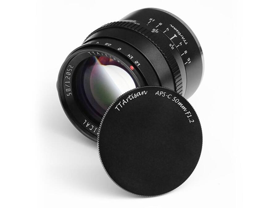 TTArtisan 50mm f/1.2 Lens for APS-C Mirrorless Cameras, Price $98