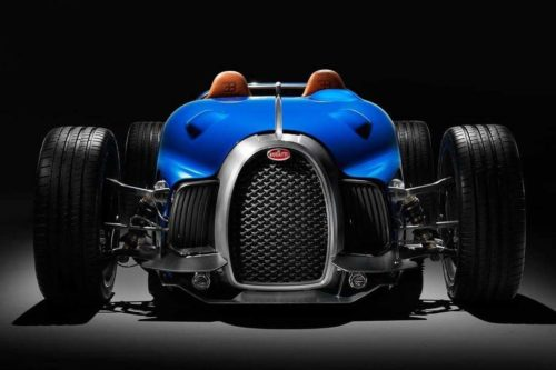 This Bugatti Type 35 D by Uedelhoven Studios took five years to complete