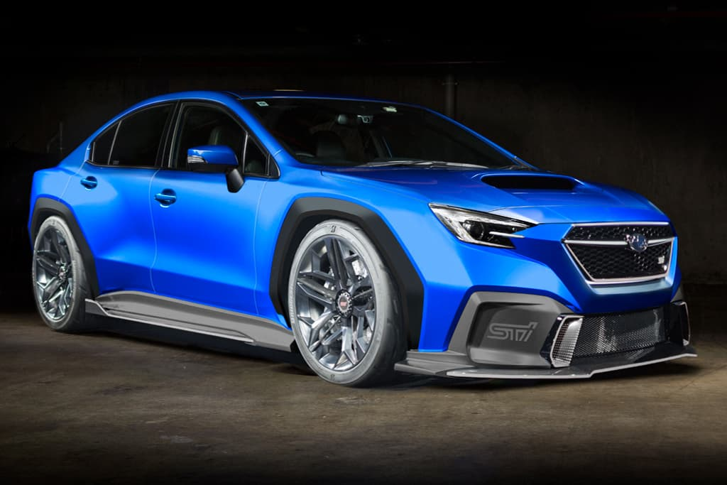 Subaru WRX STI to go high-tech