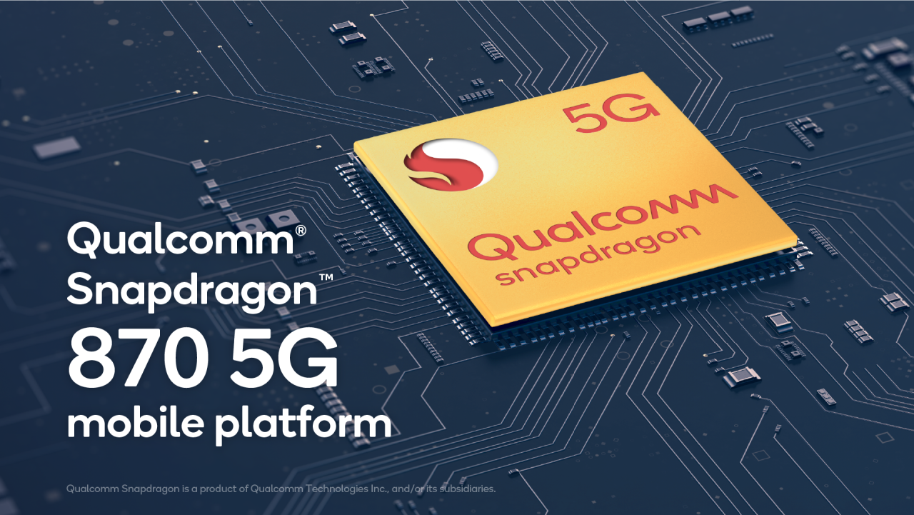 Qualcomm Snapdragon 870: The OnePlus 9's Chip Revealed?