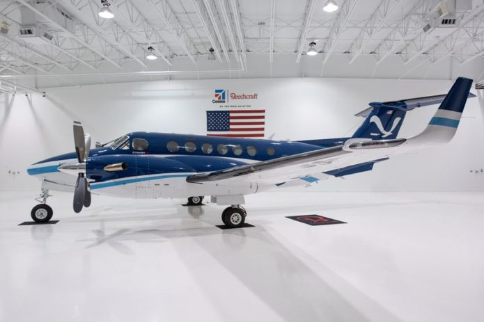 NOAA Takes Delivery of New Special Mission King Air 350CER
