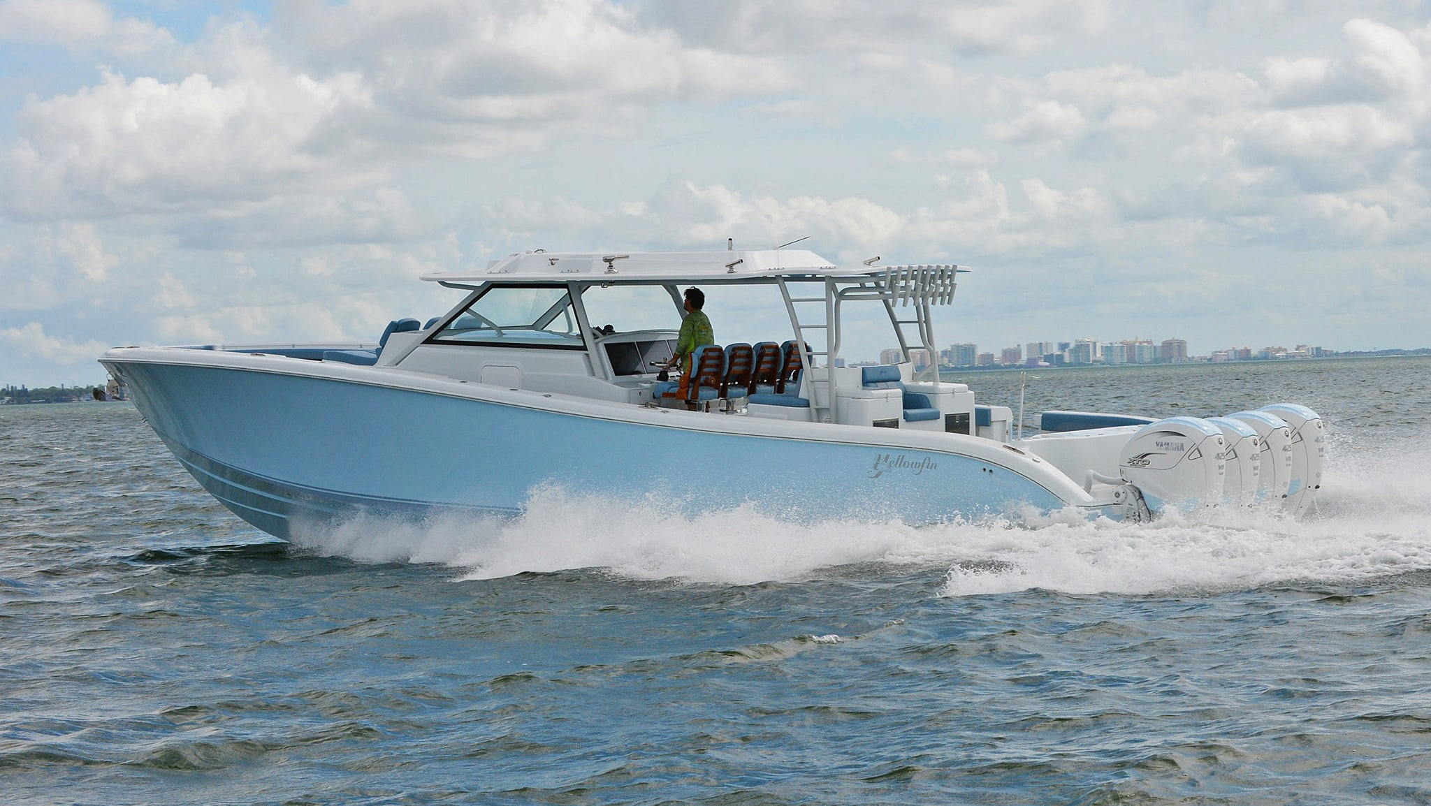 Yellowfin 54 Offshore Boat Review