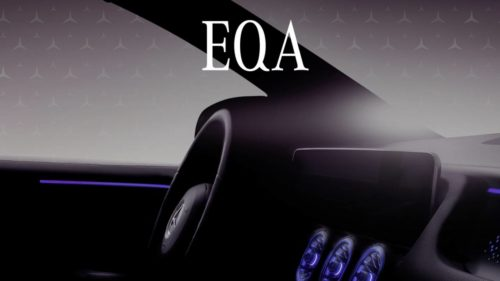Mercedes-Benz EQA electric crossover reveal dated – What we already know