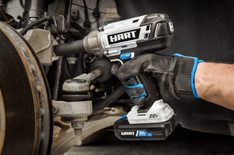 Hart 20V 1/2-Inch Impact Wrench HPIW01 Review