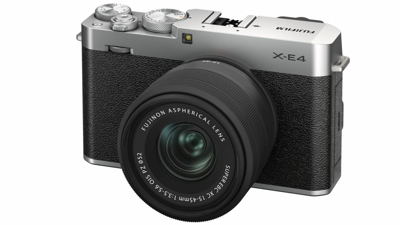 Fujifilm X-E4 is its sleekest X-Trans 4 camera so far