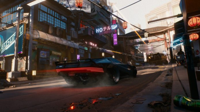 This mod lets you play Cyberpunk 2077 from a third-person perspective