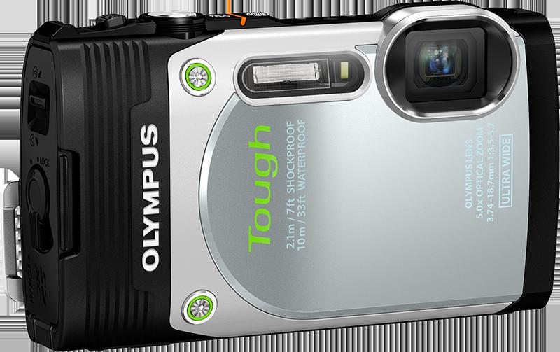 Olympus Stylus Tough TG-850 iHS Camera