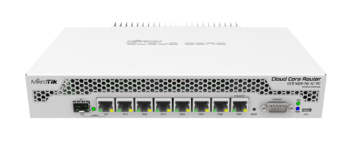MikroTik CCR1009-7G-1C-PC Router Review