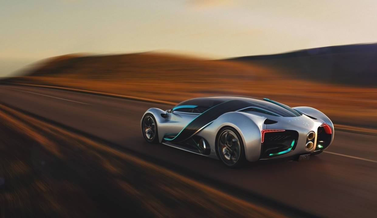 Hyperion XP-1 hydrogen supercar has landed in Las Vegas