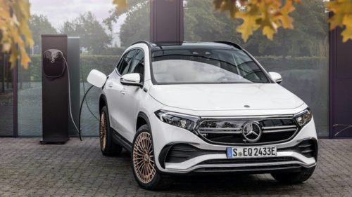 2022 Mercedes-Benz EQA electric crossover strikes a price and range balance
