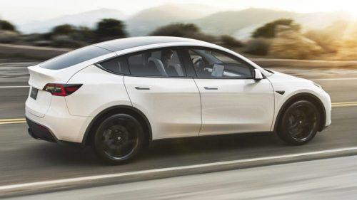 2021 Tesla Model Y Standard Range RWD model debuts at $41,990