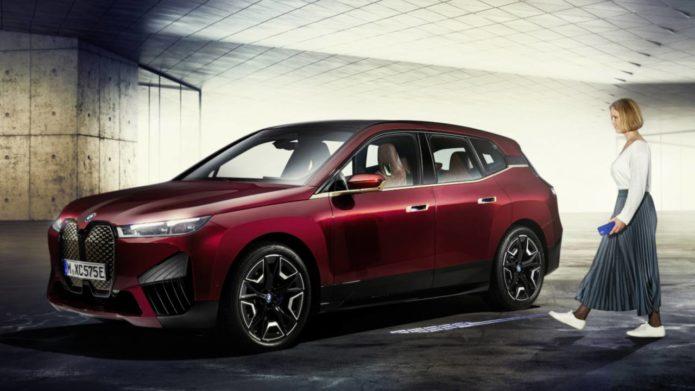BMW will debut UWB Digital Key Plus with iX all-electric SUV