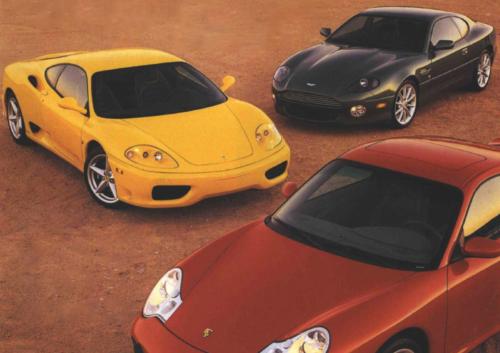 Tested: Aston vs. Ferrari vs. Porsche in the Year 2000