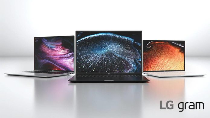 LG Gram 2021 laptops step up to 16:10 screens