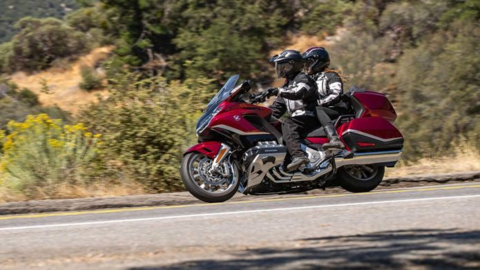 Honda updates 2021 Goldwing and CRF sports bike with new features